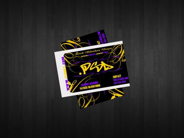 Designer Business Cards PSD