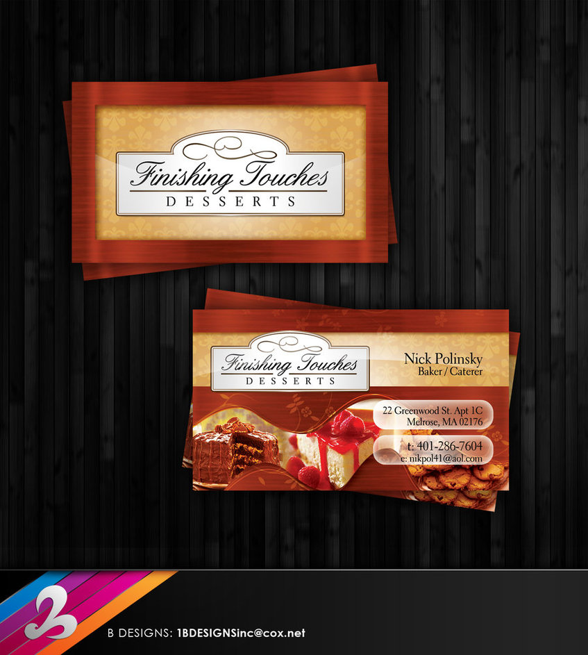 Dessert Business Card and Logo