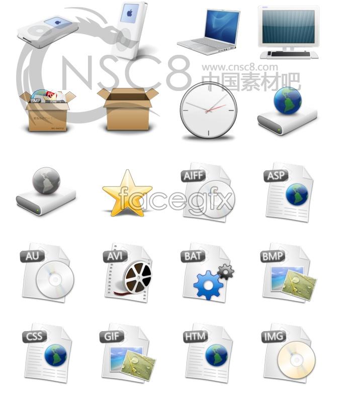 Dim beauty of Vista icon series