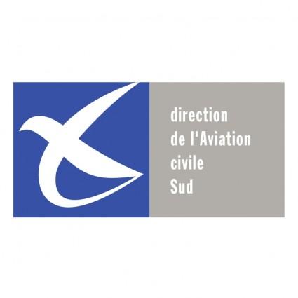 direction de laviation civile sud logo