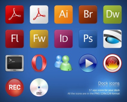 Dock Icons icons pack