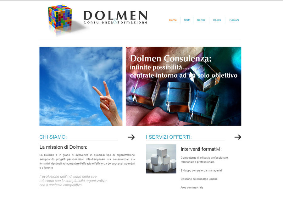 Dolmen Consulting Website