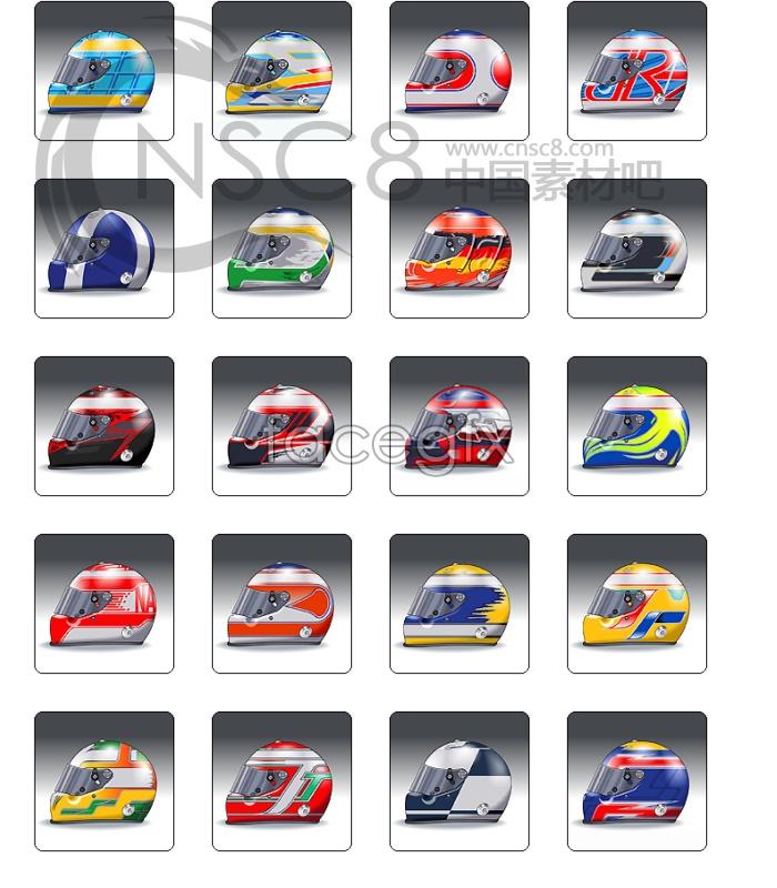 Download F1 racing helmet icon