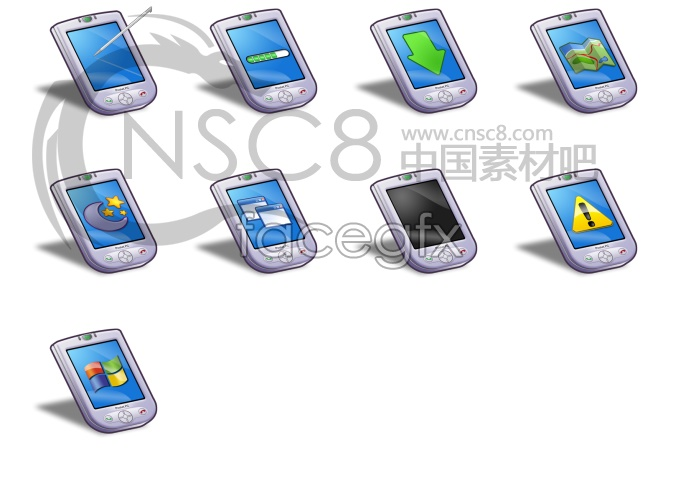 Template computer icons chart download ppt element png download.