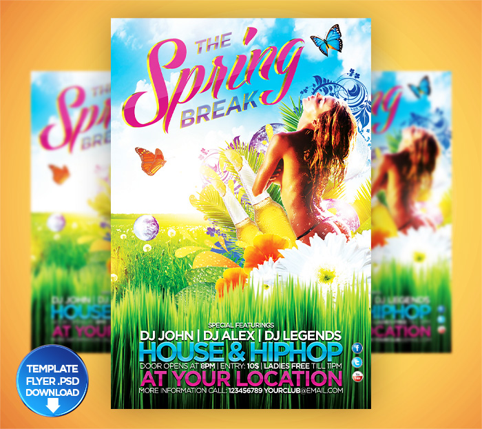 DOWNLOAD PSD Spring / Summer Brash