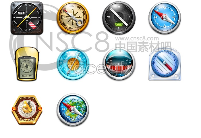 Download Safari browser icon