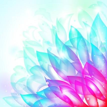 Dream Flower Vector Background