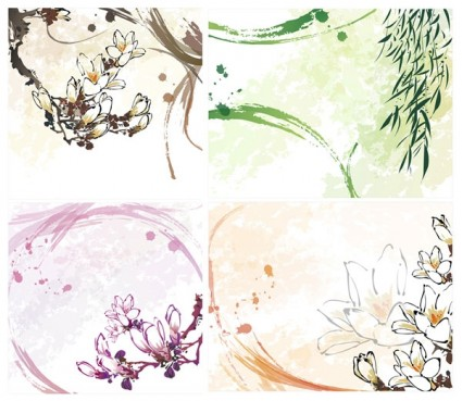 dream flowers vector 9
