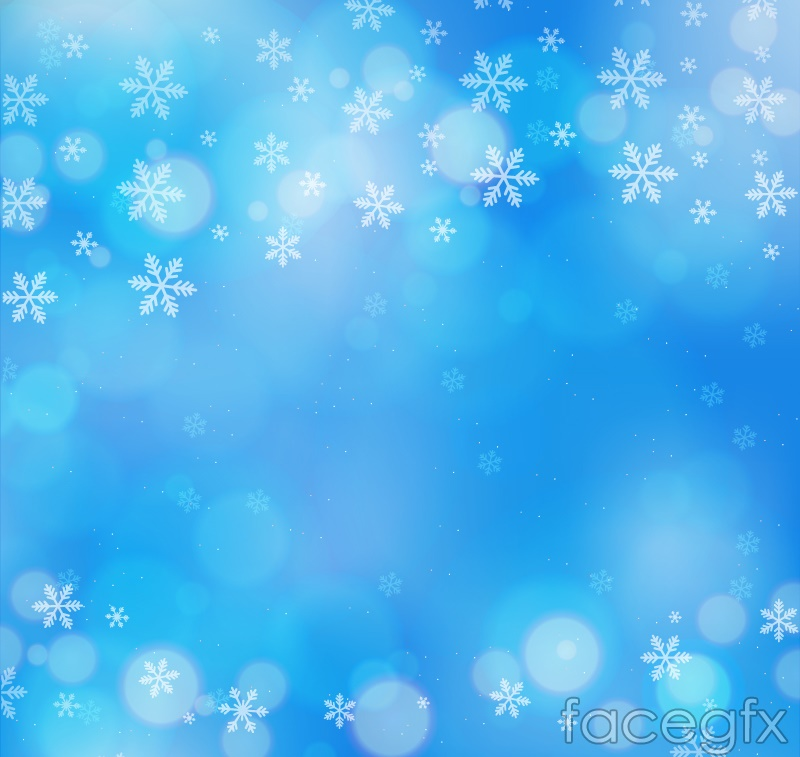 Dreamy white snowflake background vector – Over millions ...