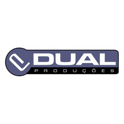 dual producoes logo