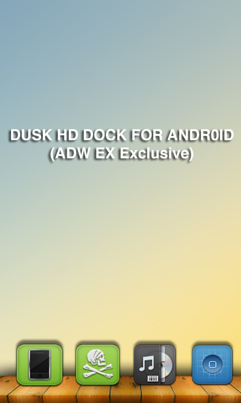 DUSK HD Dock for Android