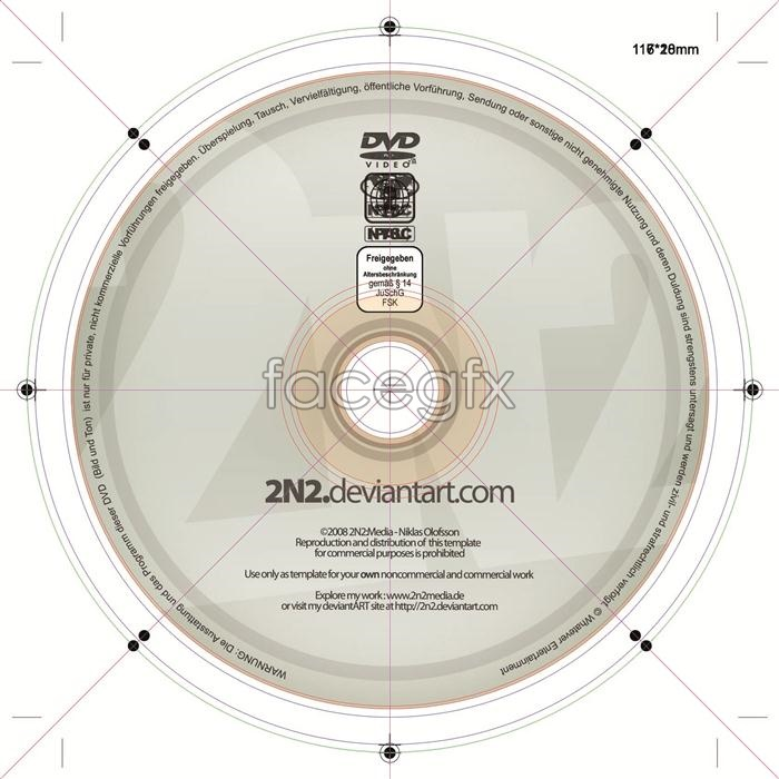 Dvd disc surface design templates graphic design psd Over