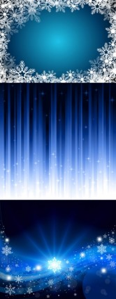 dynamic blue background vector