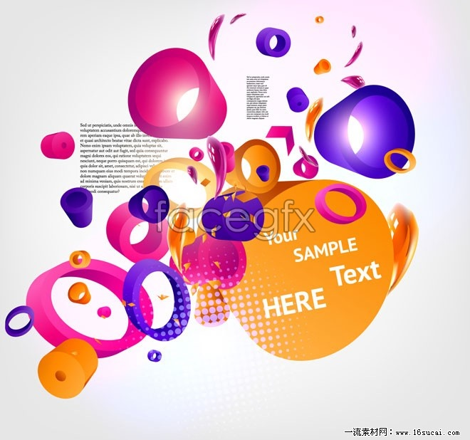 Dynamic currents dimensional vector background 2