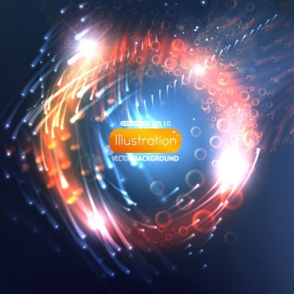 dynamic flare background 01 vector