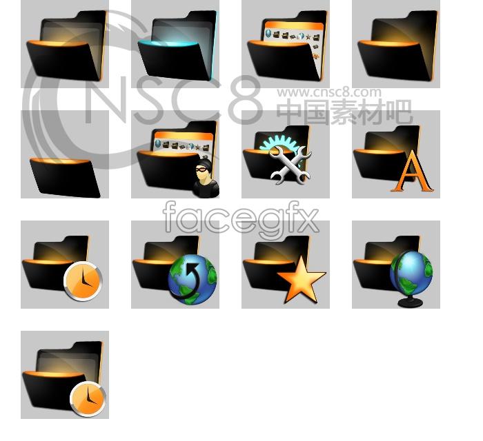 Dynamic folder icons
