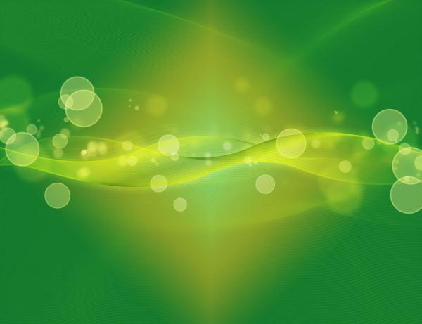 Dynamic glow PSD background