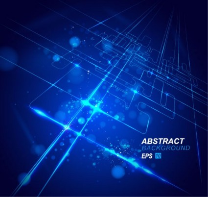 dynamic technological background bright 02 vector