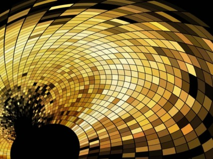 dynamic trend of the mosaic background 01 vector