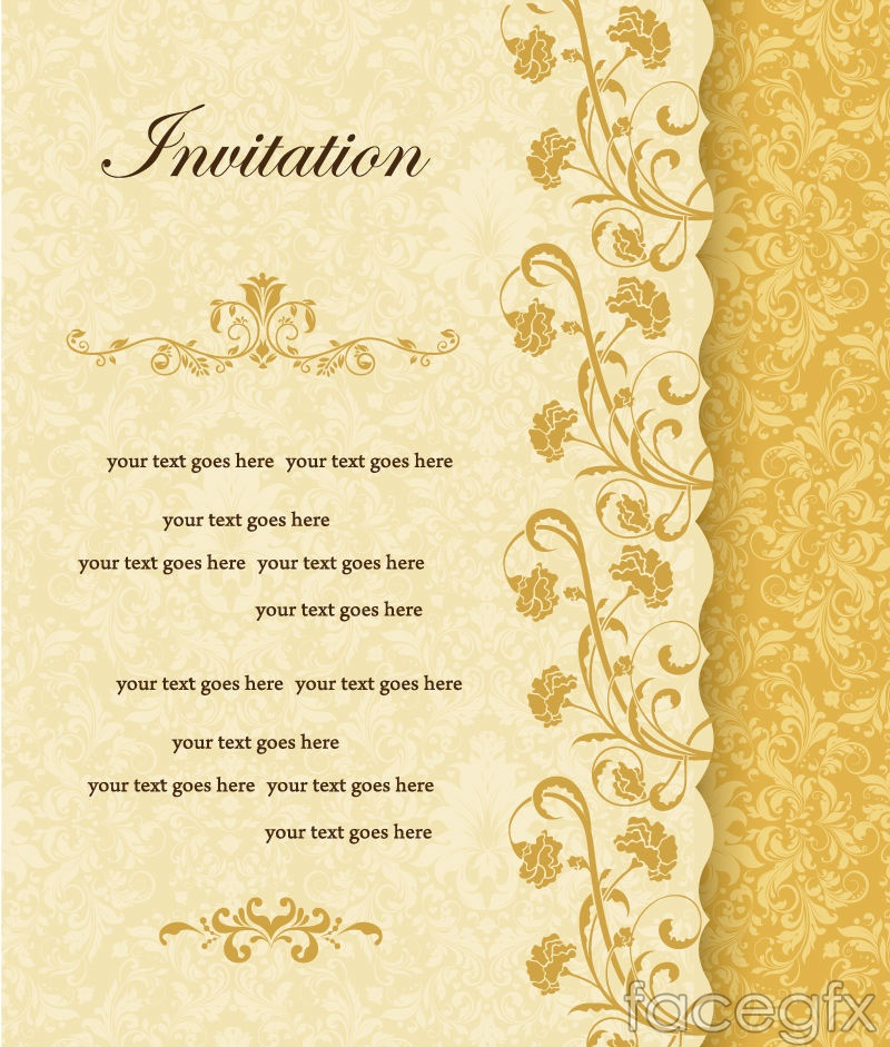 Elegant gold printing background vector – Over millions vectors, stock photos, hd pictures, psd ...