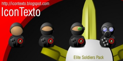 Elite Soldiers Pack icons pack