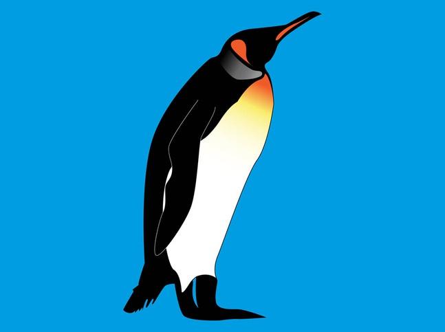 emperor penguin vector free