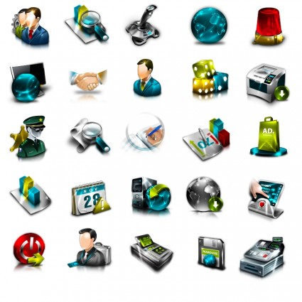 ERP General Icon Set icons pack