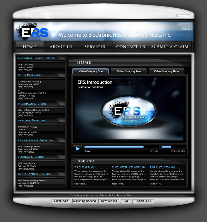 ERS Page Concept
