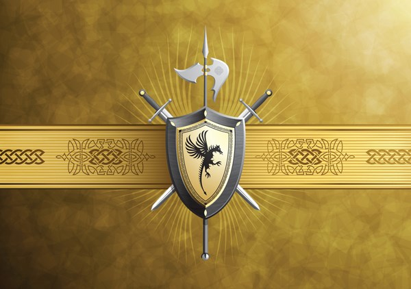 European dragon shield vector over millions vectors stock photos european dragon shield vector maxwellsz