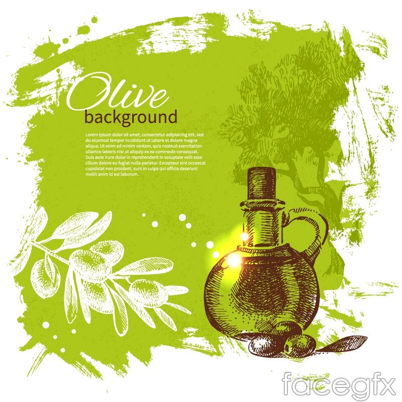 European olive oil background vector over millions vectors stock european olive oil background vector free download toneelgroepblik Gallery