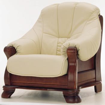 European-style leather sofa 3D Model