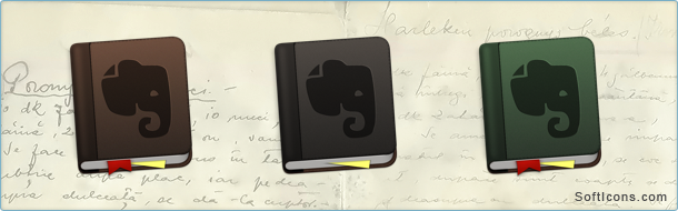 Evernote Flavours Icons