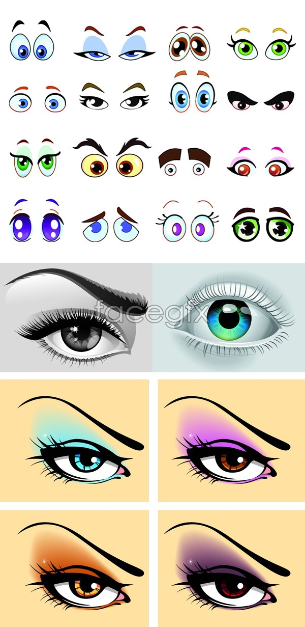 Eye painting vector over millions vectors stock photos hd eye painting vector toneelgroepblik Choice Image