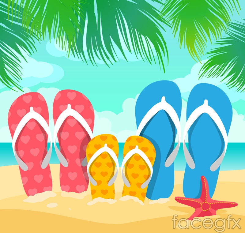 Family slippers vector – Over millions vectors, stock photos