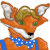 Farley Fox Mascot 365