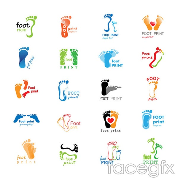 Fashion Footprint Logo Vector Over Millions Vectors Stock Photos Hd Pictures Psd Icons 3d