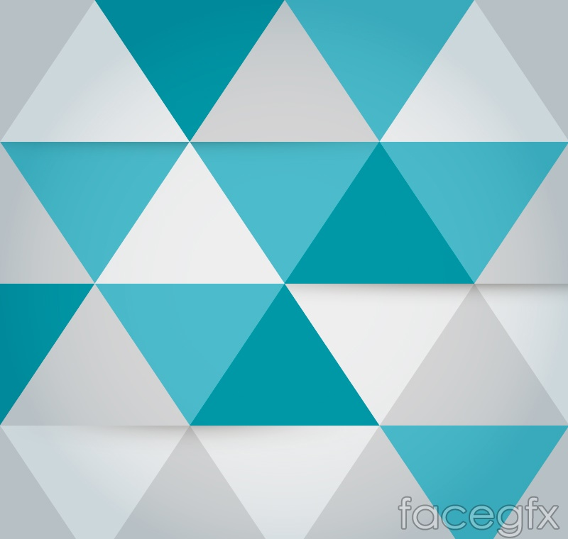 Fashion triangle mosaic background vector – Over millions ...