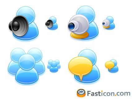 FAST ICON USERS icons pack
