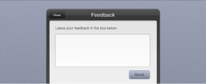 Feedback Form Interface