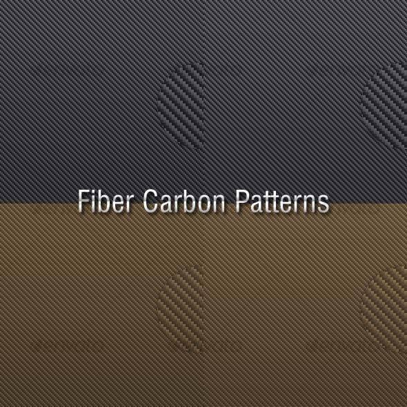Fiber Carbon Pattern Vol.08