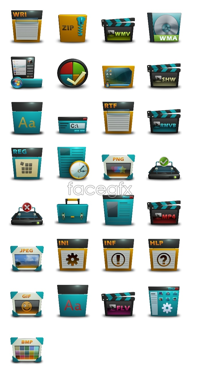 Files desktop icons