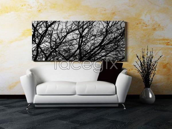 Fine furniture sofas 01 PSD