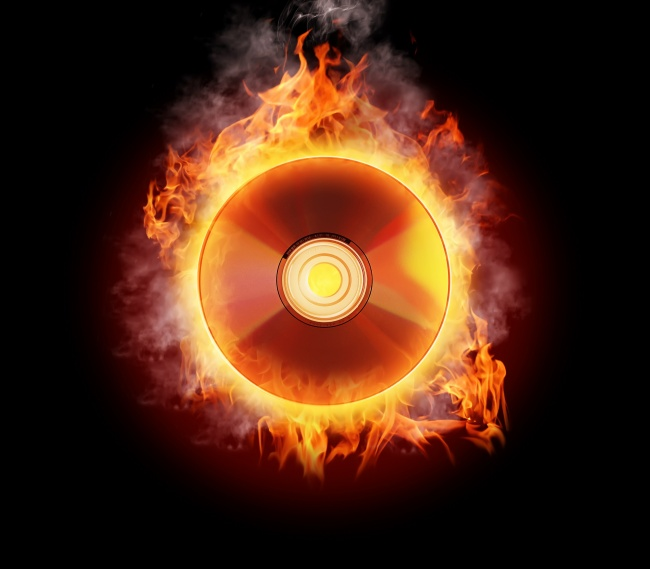 Flame CD image download