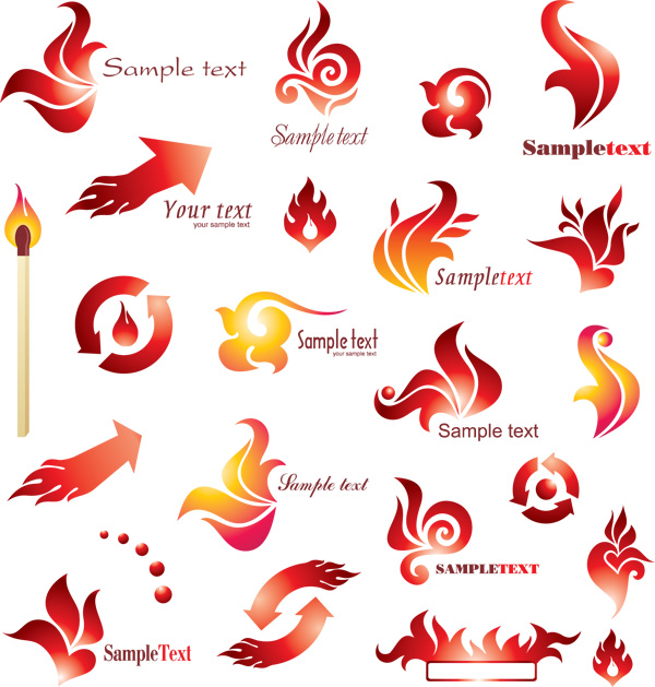 Flame logo flag – Over millions vectors, stock photos, hd pictures