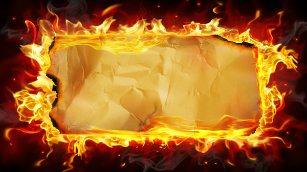Flame vellum backgrounds PSD