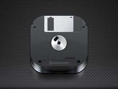 floppy disk icon – free psd