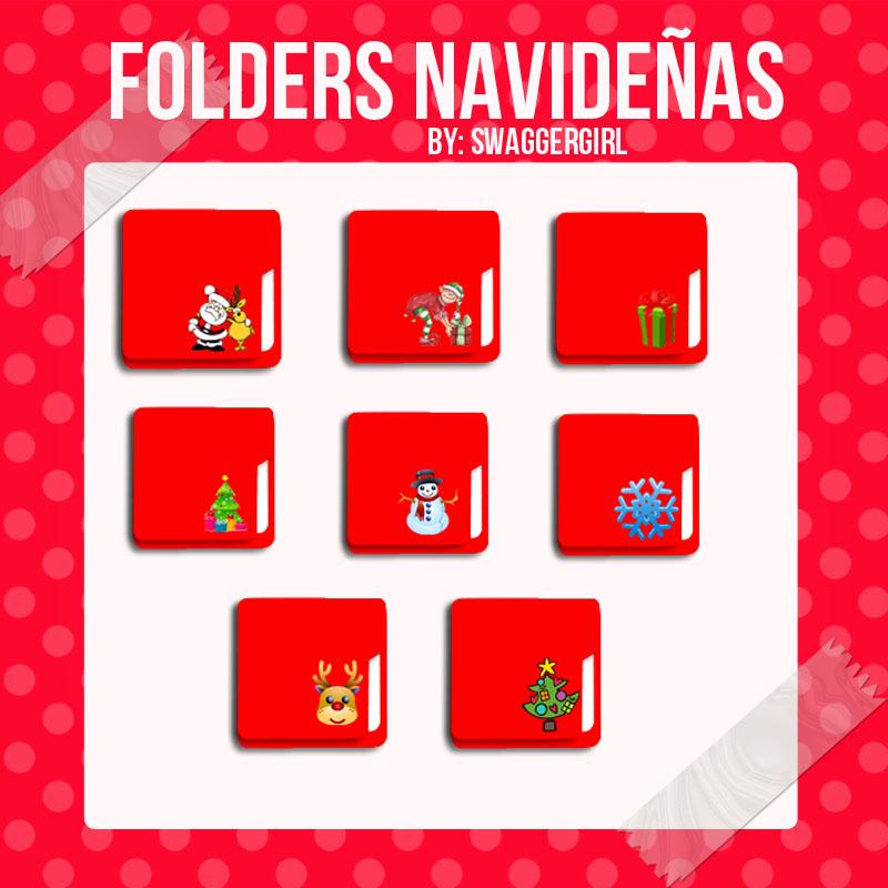 Folders Navidad