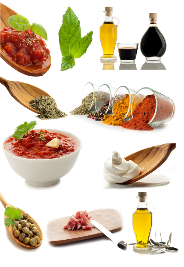 Food ingredients psd over millions vectors stock photos - Application cuisine 3d ...