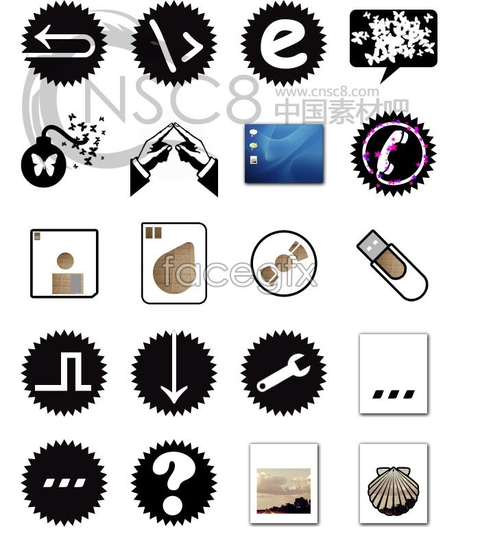 Fractal design system icons