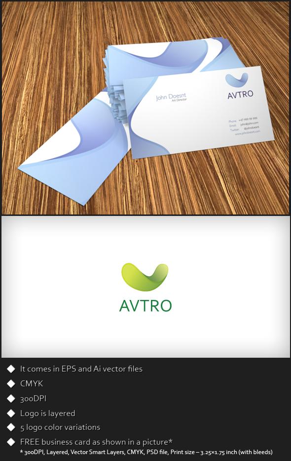 Free Logo Template – Avtro